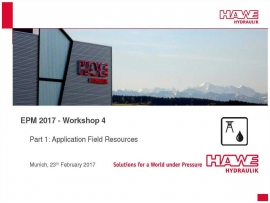 Annual meeting of partners of Hawe in Munich