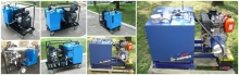 Mobile hydraulic power packs